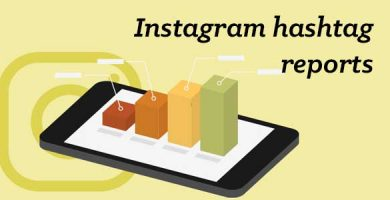 Main image - Instagram hashtag reports