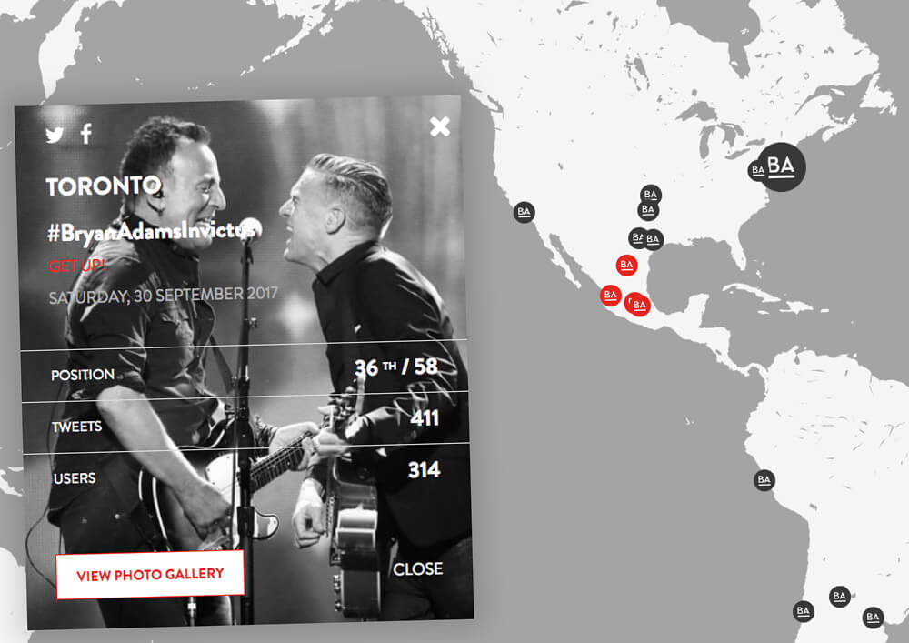 #BryanAdamsGetUp mapa