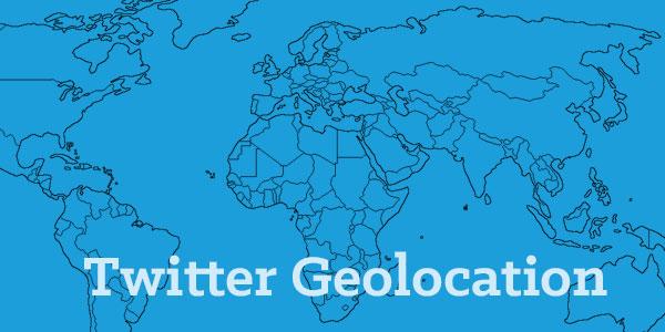 Twitter geolocation maps
