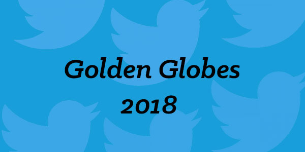 Golden Globes Twitter activity