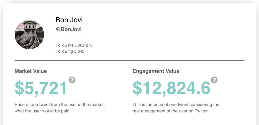 Bon Jovi Twitter