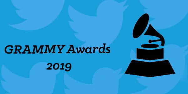 Grammys Twitter activity