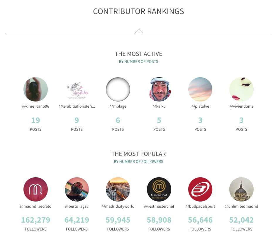 herramienta analítica Instagram
