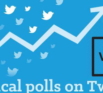 Create political polls on Twitter
