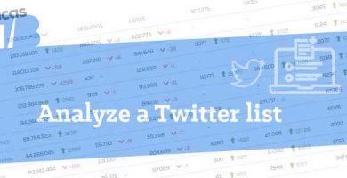 How to analyze a Twitter List