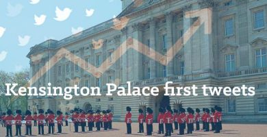 First tweets sent by Kensington Palace