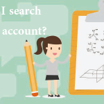 How can I search a Twitter account?